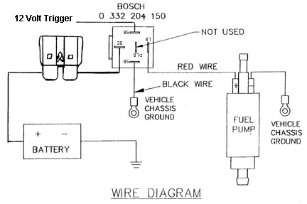 Information :: Tech Area :: How to wire a fuel pump relay. on