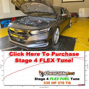 Accord Stage 4 Flex Fuel Tune